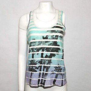 Just Ginger Palm Tree Tank Top